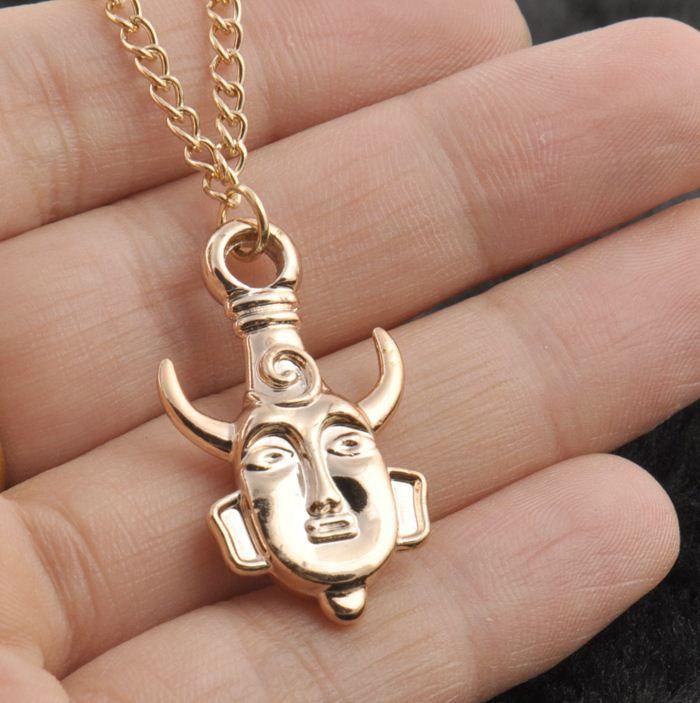Hot 2 Colors America Television Surrounding Retro Necklaces Supernatural Dean Wearing The Amulet Pendant Chain Necklace