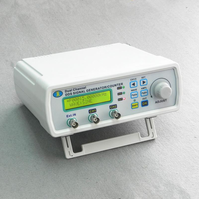 Бесплатная доставка DDS NC двухканальный функциональный генератор сигналов TTL DDS генератор сигналов генератор сигналов сигнала 6 МГц бесплатная доставка