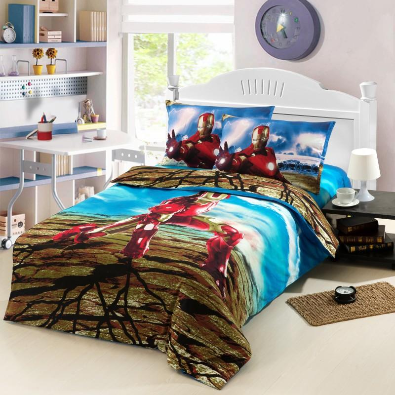 Boys Kids Character Bedding Sets Twin, Full Size Bedding For Toddler Boy