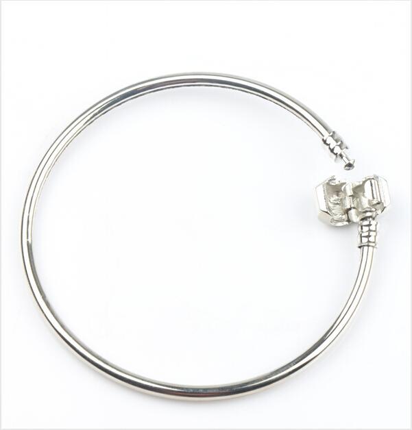 Мода 4styles новый 925 Серебряный Vogue SP браслет браслеты Fit европейский шарм бусины цепи ювелирные изделия DIY