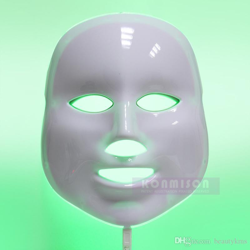 Il nuovo commercio all'ingrosso 2016 di cura della pelle PDT ha condotto la maschera leggera 3 di bellezza di colore della maschera facciale di terapia della luce Trasporto libero DHL
