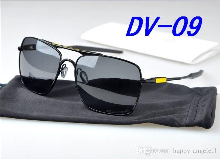 montatura Occhiali da sole classici di marca Occhiali da ciclismo Occhiali polarizzati Occhiali da sole da uomo integrati da donna