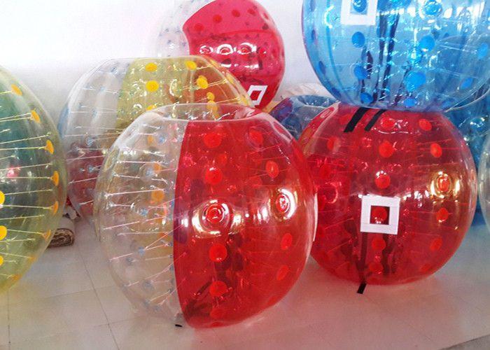 1.2 m 1.5 m PVC zorb topu, şişme tampon topu, kabarcık futbol, kabarcık futbol seçim için farklı renkler