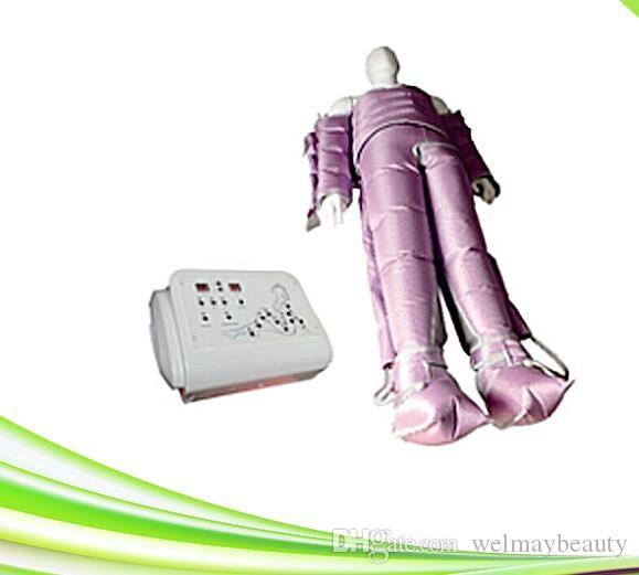 WM-608 Spa Salon uso presoterapia máquina de masaje de drenaje linfático adelgazar adelgazar máquina de presoterapia traje de drenaje linfático máquina de presoterapia