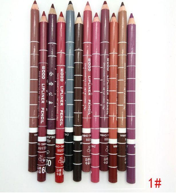 2016 Nuovo superiore di vendita lipliner 24 colori impermeabile matite per le labbra Contorno Labbra matita della fodera trucco cosmetico Tools