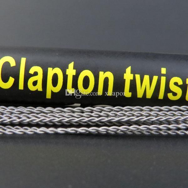 Großhandel DIY Atomizer Clapton Draht Sub-Ohm-Spule Clapton Twist ...