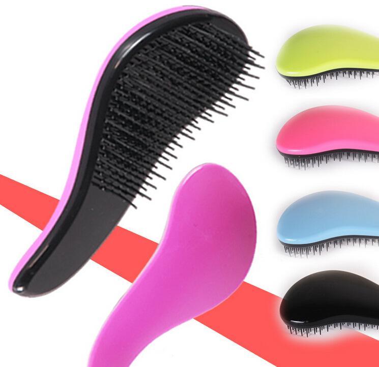 Hair Brush Fashion Detangling Handle Shower Hairbrush Comb hairstyling Salon Styling Tamer Tool Professional Compact Styler Salon Styler