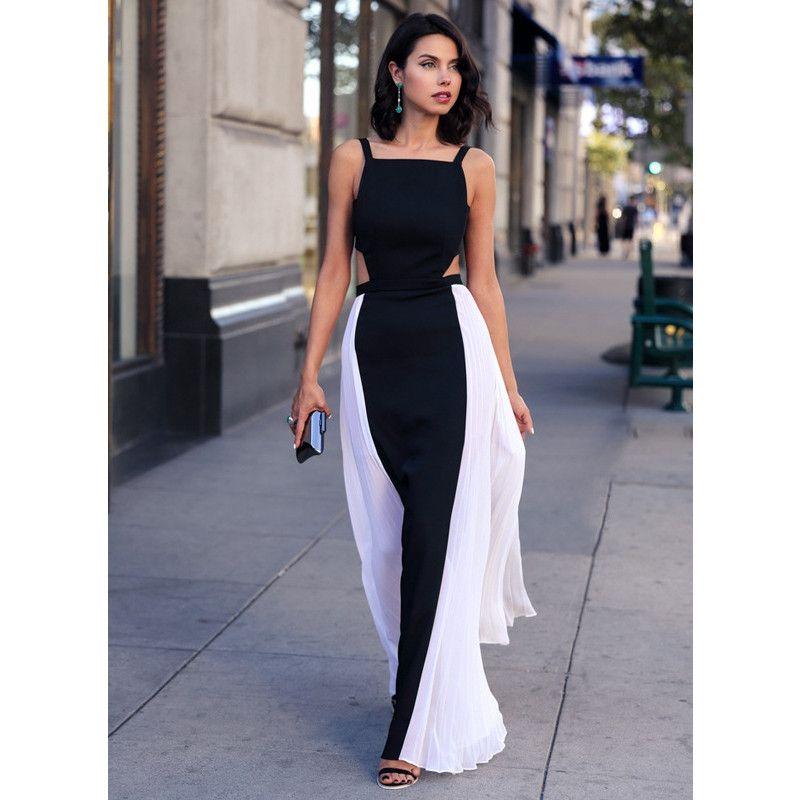 Summer Dress 2015 Women Runway Dress Beach Party Chiffon Long Dresses Plus  Size Women Casual Maxi Dress Summer Style Clothing Pink Casual Dresses For  ...