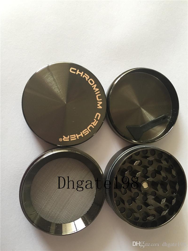 Più nuovo smerigliatrice del crusher del cromo per erba, grandi smerigliatrici di erbe del tabacco del frantoio del metallo della lega di zicn di CNC grandi