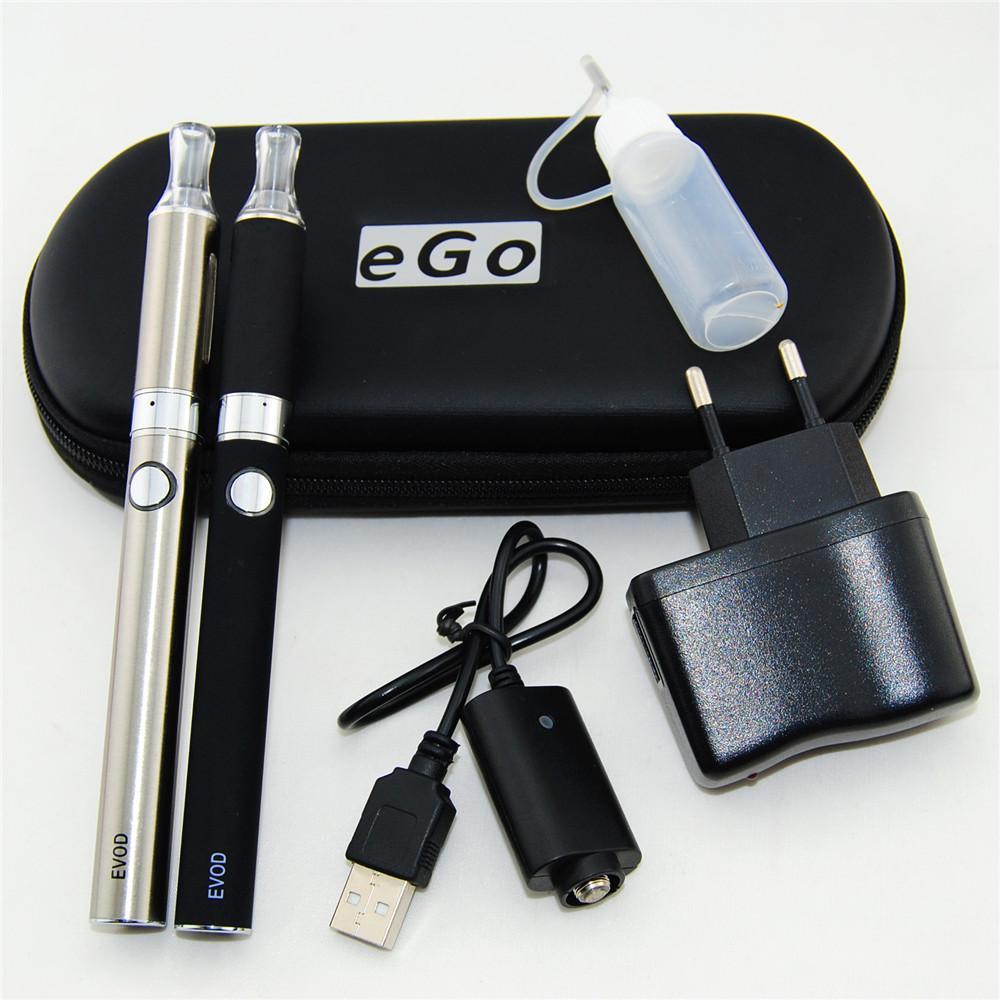 Nuovo Evod doppio starter kit vaporizzatore E-sigarette 2 * BBC MT3 atomizzatore Clearomizer 2 * Evod Batery 650mah 900mah 1100 mah batteria DHL Free