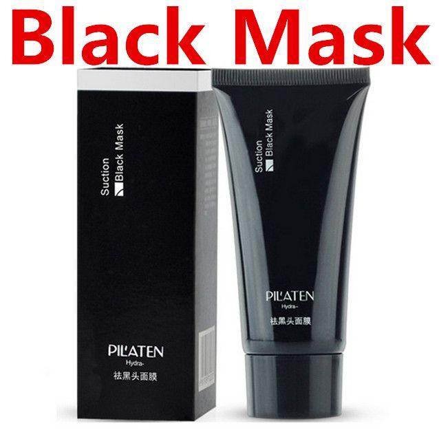 PILATEN Saug-Schwarz-Maske Reinigung Gesicht Masken Mitesser-Entferner Peels Tearing Style Tiefschwarz Moor Masken Öl Haut Akne Erdbeere Nase