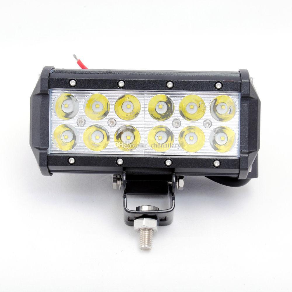 7 Inch 36W Cree Car LED Work Light Bar 2800LM Spot Beam ALL Cars 4x4 Off Road Lamp