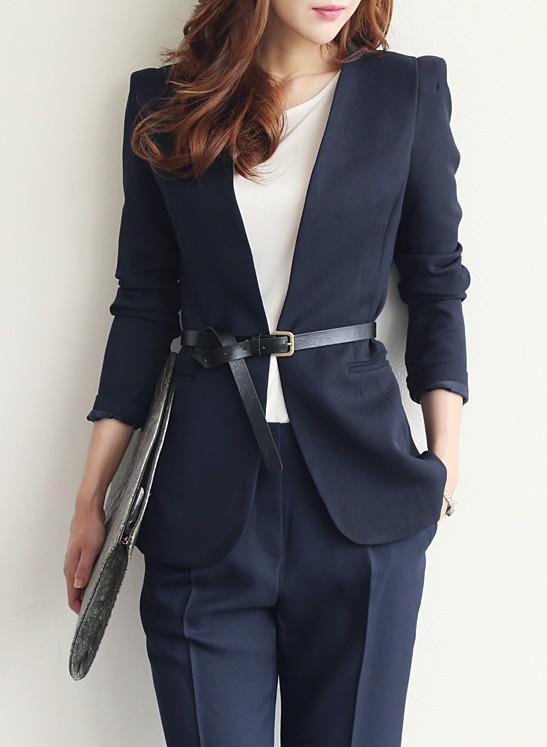 2015 New Arrival Korean Slim Suit Jackets For Women Fashion Blazer Women Size M-XL Slim Fitting Jacket