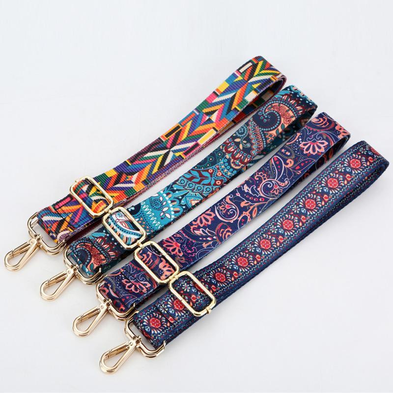 New Colorful Shoulder Belt Replacement Handbag Strap gold silver gun black buckle Width 3.8cm DIY Bag Accessories