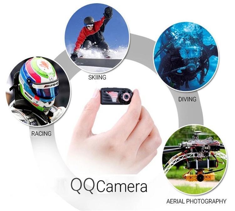 New arrival Smallest Full HD 1080P 720P Mini DV DVR Camera Camcorder IR Night Vision Motion Detect DVR QQ6 MINI DV (18)