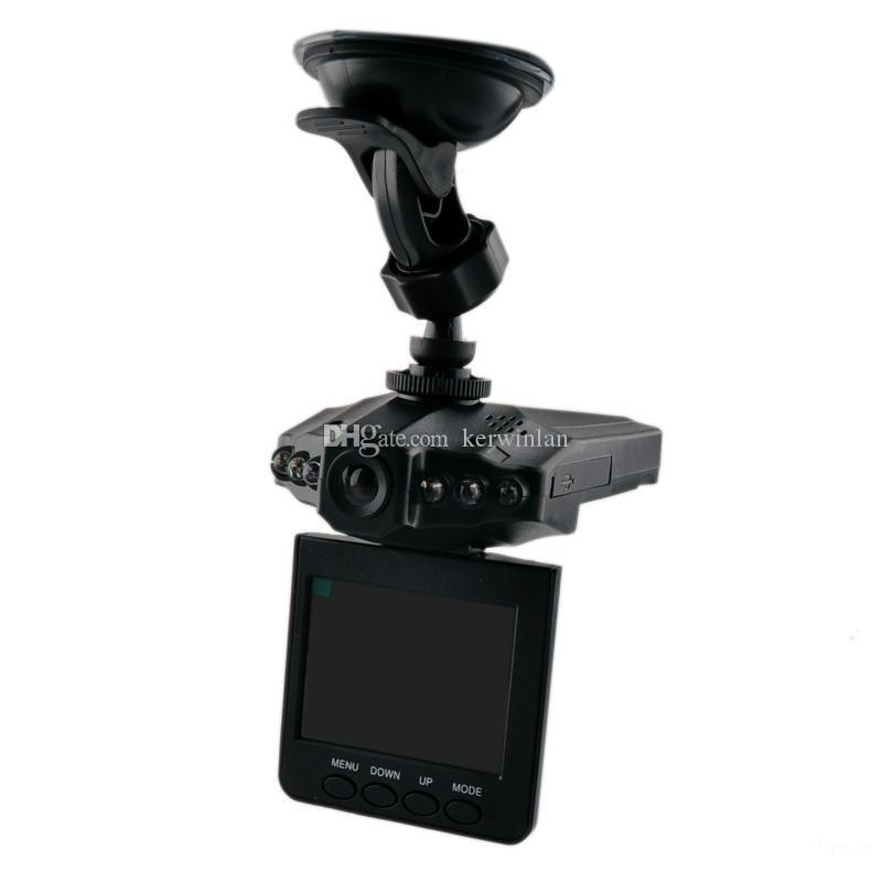 H198 2.5 inch Car Dash Camera Car DVR Camcorder HD DVR With 6 IR LED Night Version Support Multi-language Wide Angle