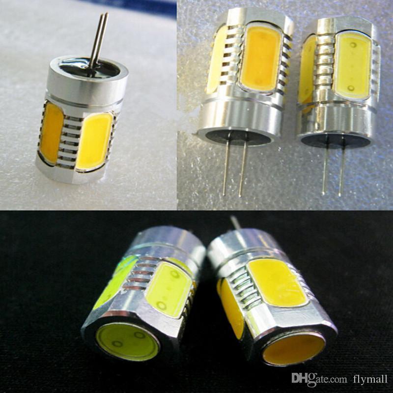Alta potência da lâmpada G4 cob 3W 5W 7W 9W 12W Lâmpadas LED MR16 holofotes DC 12V branco quente / G4 branco levou lâmpada