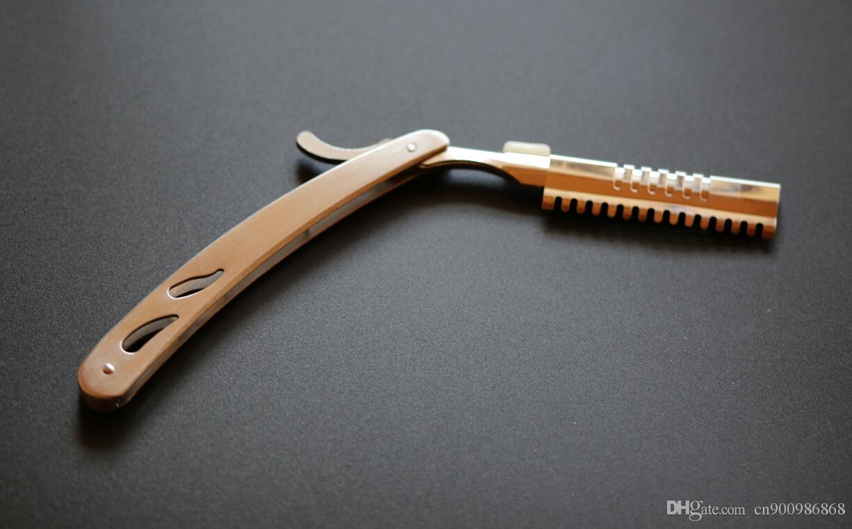 profissional cabelo fino faca corte cabelo navalha espada espada raspagem