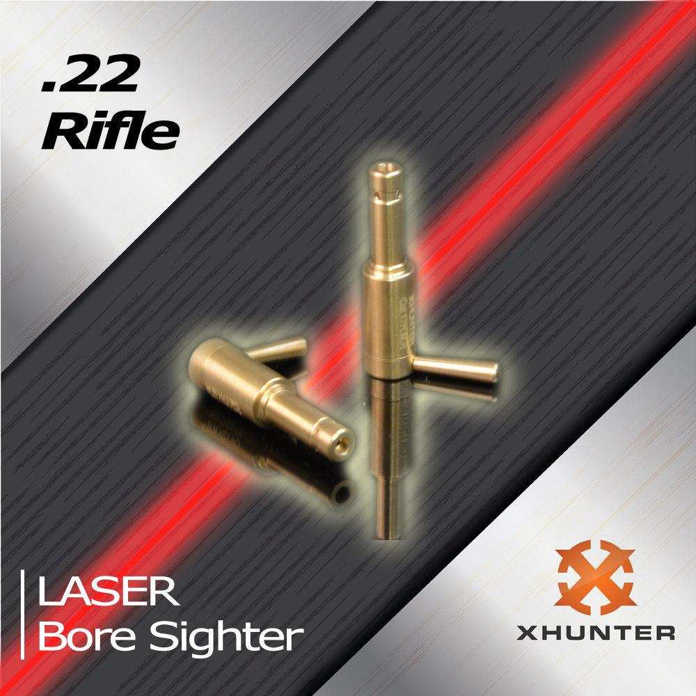 Hunting .22 Cal Red Sight Laser Boresighter Cartridge Red Dot Laser Bore Sight