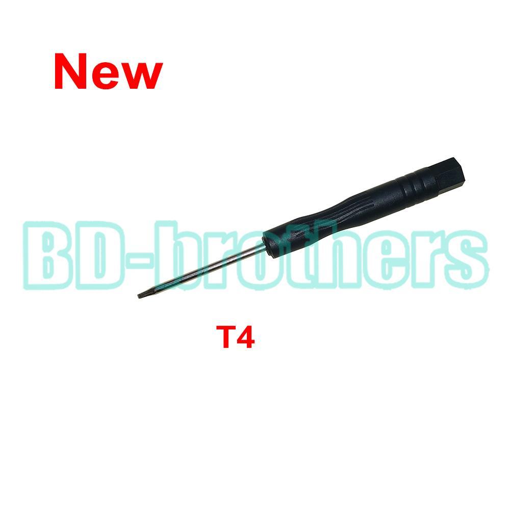 2016 새로운 블랙 T4 드라이버 Torx 스크류 드라이버 모토 폰 노트북을위한 도구 열기 하드 드라이브 회로 보드 수리 6000pcs / lot