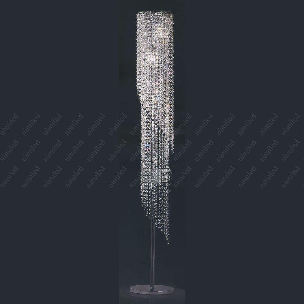 Nowoczesna Moda K9 Kryształowa Lampa Lampy Podłogowe Studiów Lampa Sypialnia Lampa Salon / Schody Sufitowe Lampy HSA1381