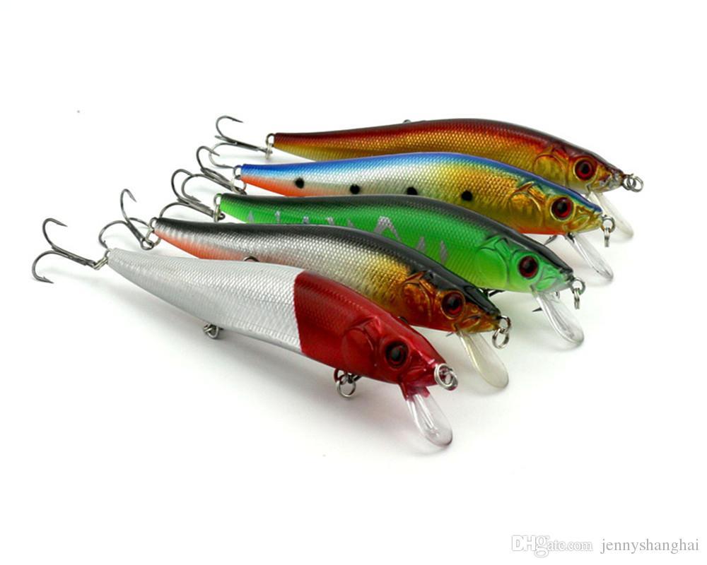 HENGJIA 10 Farben Länge 14 CM Gewicht 25G Fischköder Harten Köder Künstliche Vivid Schwimmen Köder Angelgerät
