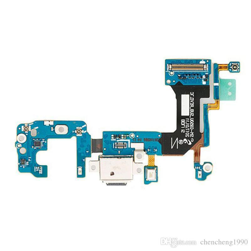 100% OEM Neue Test USB Ladegerät Ladeanschluss Flex Kabel Montage Für Samsung Galaxy S8 + S8 Plus G955U G955F