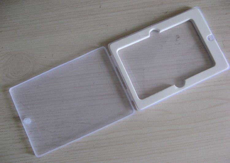 10 PCS 카드 U 디스크 PP 포장 스폰지 U 디스크 상자와 투명 선물 상자 크기 105x73x10MM