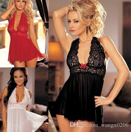 섹시한 제품 블랙 레이스 란제리 의상 여성 속옷 레이디 란제리가 입은 복장의 정장을 입고