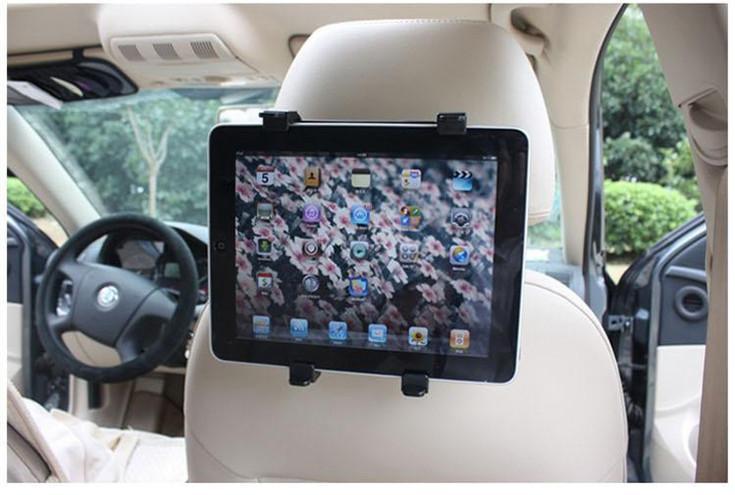 Back Seat Headrest Mount Holder Tablet Houder Stand Soporte Tablet Car Reposacabezas Soporte ipad mini 2 Universal Car Mount Holder Galaxy