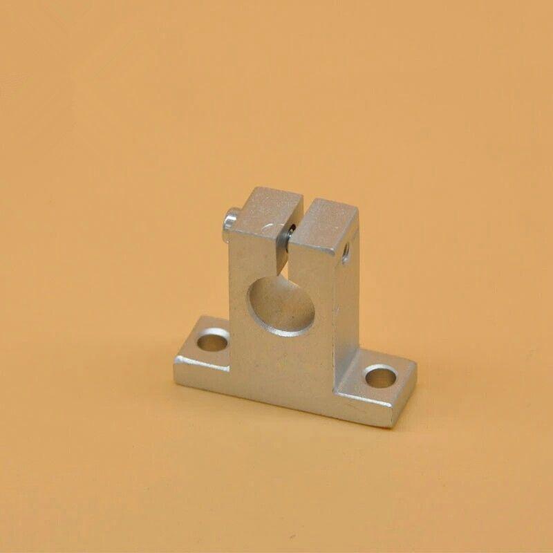 100 pz SK10 10mm asta di guida lineare fine supporto supporto albero CNC Router SH10A parti CNC