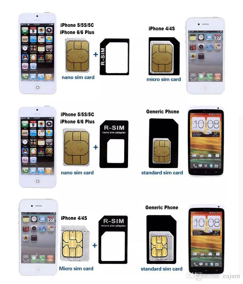 quel carte sim pour iphone 6 Acheter LIVRAISON GRATUITE Noosy 4 En 1 Micro Nano Standard Carte