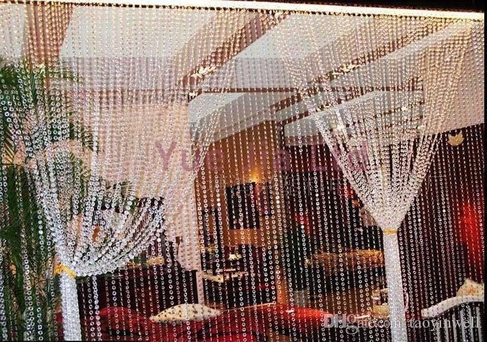 2016 Imitated Crystal Acryl Octagon Bead / Door Curtain Porch Hang ...