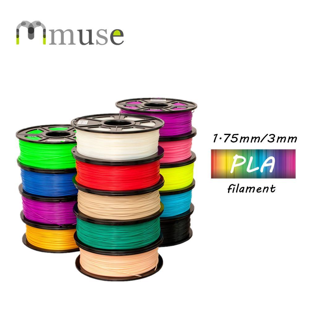 13 الألوان NW 1KG / لفة PLA 3D الطباعة الشعيرة مع 1.75mm 3MM القطر لبيع