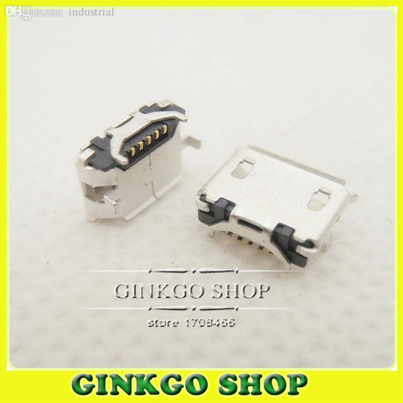 Wholesale-10Models, 100pcs Totale micro USB sockect 5Pin jack coda, micro porta USB del connettore sockect per Samsung Lenovo Huawei ZTE HTC ect
