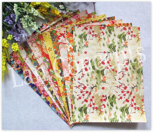 19x27cm Mixed designs Japanese origami papers Washi paper for DIY crafts scrapbook wedding decoration -50pcs/lot wholesale