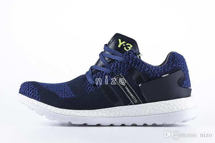 d14e9e945 ... 2016 Y3 Pure Boost Primeknit Boost ZG Knit Mens Athletic Y3 Shoes Pure  Boost Mens Ultra