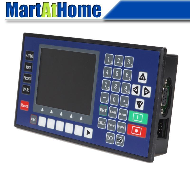 Einachsige CNC-Panel Motion Controller Schrittmotor Controller w / LCD Display für Plasma, Laser-Flammen-Cutter # SM654 @SD