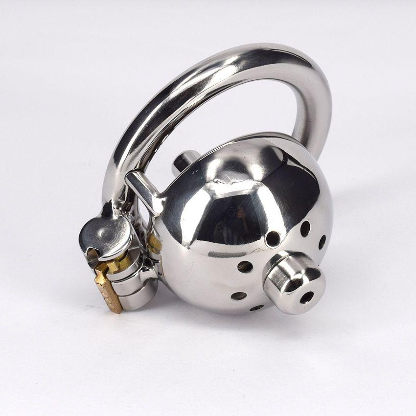Dispositivo di castità in acciaio inox con metallo DILATORI URTRALI Giocattolo del sesso per uomo maschio adulto Gabbia di schiavitù Prodotto fetish