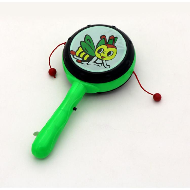 Baby rattle drum hand drum electronics emitters shaking drum stalls selling wholesale toys for children