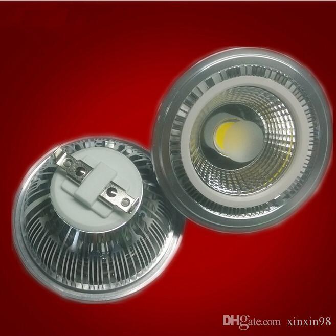 Projecteur à LED COB AR111 15W dimmable / sans gradation COB ES111 QR111 GU10 G53 110V 120V 220V 230V 240V Equal 120W lampe halogène 2800-7000K
