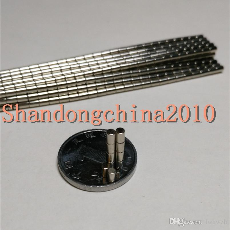 Wholesale - In Stock 200pcs Strong Round NdFeB Magnets Dia 2x3mm N35 Rare Earth Neodymium Permanent Craft/DIY Magnet Free shipping