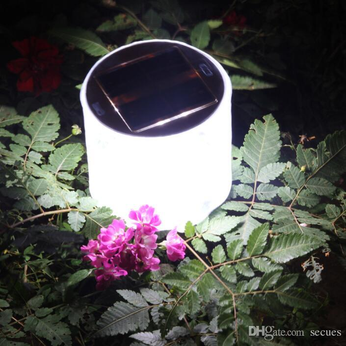 Inflatable Solar Light 10 LED Lantern Waterproof IPX6 Foldable