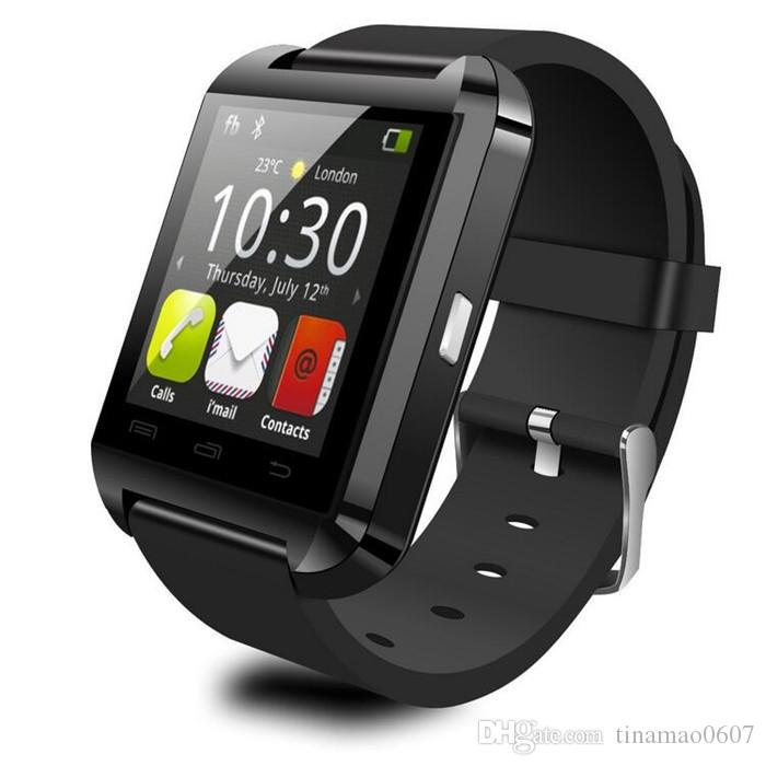 Smart Watches U8 Wrist Watches U8 Bluetooth SmartWatches With Altitude For iPhone 6 7 Plus and Samsung S4/Note/s6 HTC Android Phone