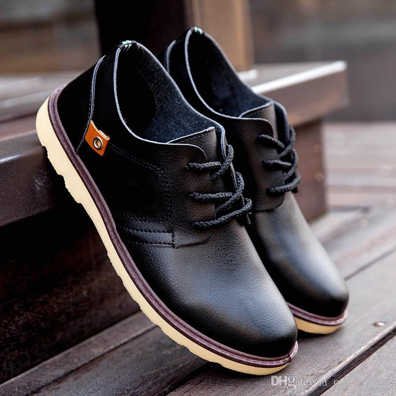 Awesome Mens Casual Leather Shoes
