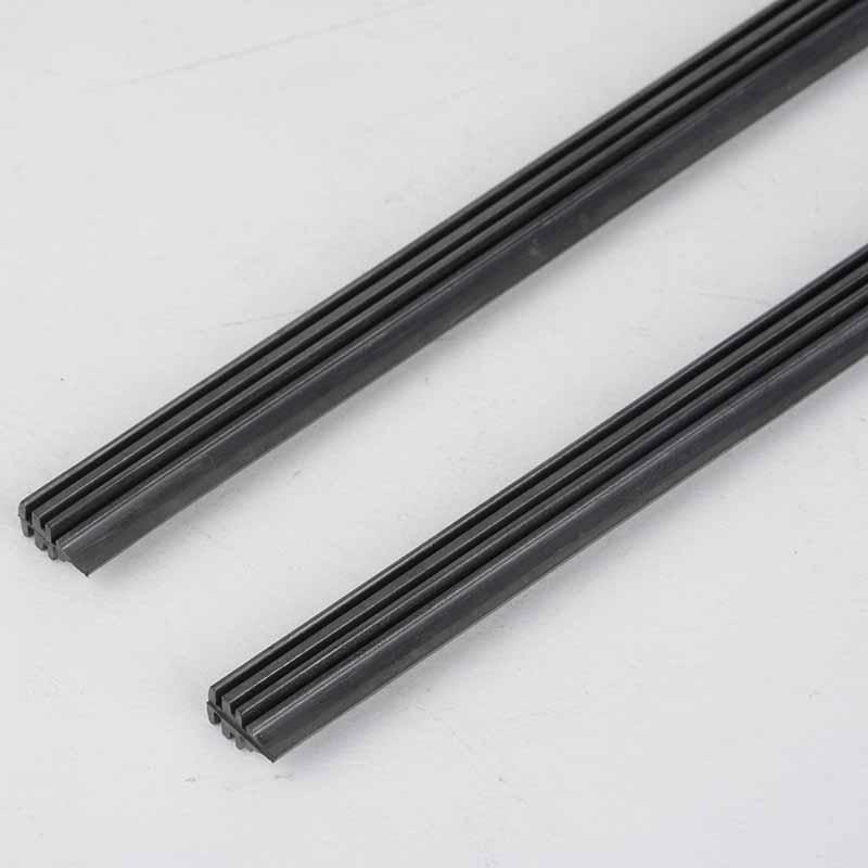 "2Pcs Windshield Frameless Rubber Wiper Blade Refill 26/"" for Universal Auto Car"