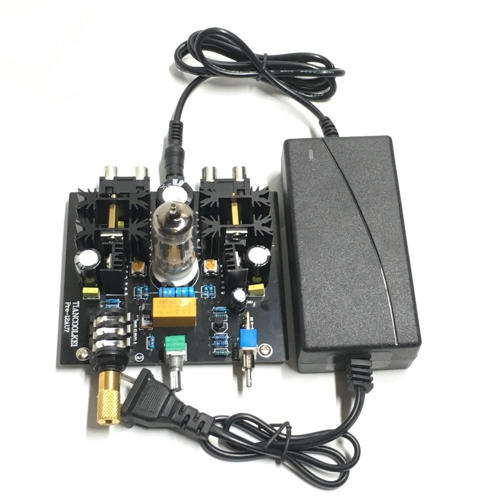 Audio Tube Preamplifier Board Pre Amp Class A Tube Preamp Valve Class A 12au7 Tube Headphone Diy Amplifier Kit Wireless Speakers Speaker From Huanyin