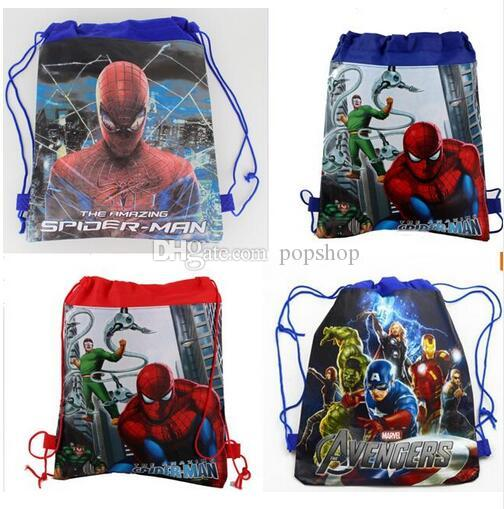 Style Mixed 96 Hot Selling Fashion backpack popular girls schools bags good quality canvas cartoon kids backpack Free Shipping