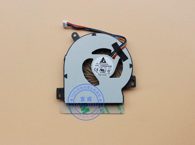 Nueva original para ventilador de refrigeración ASUS 1215N VX6 1215CT 1215B KSB0505HB -AC77 EPC portátil