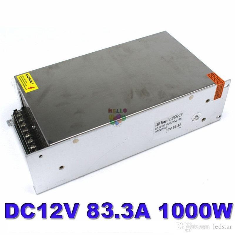 Dc 12V / 24/18/48 / 60V 1000W تبديل التيار الكهربائي 84/42/17/20 / 56A لآلة الآلات الصناعية LED